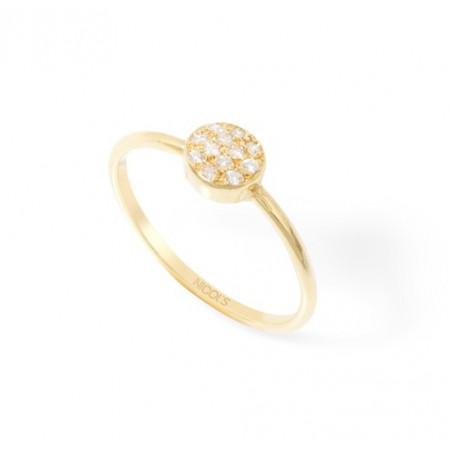 Diamond Ring MINI Button DETAILS