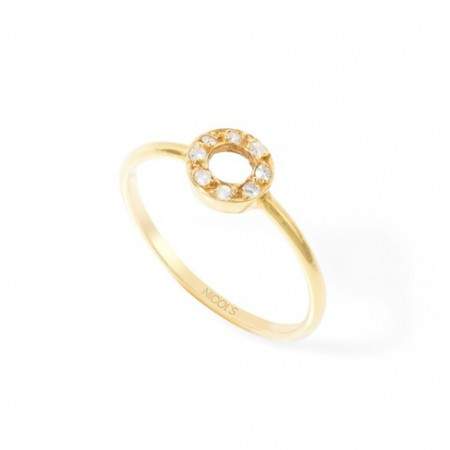 Bright Circle Ring DETAIL