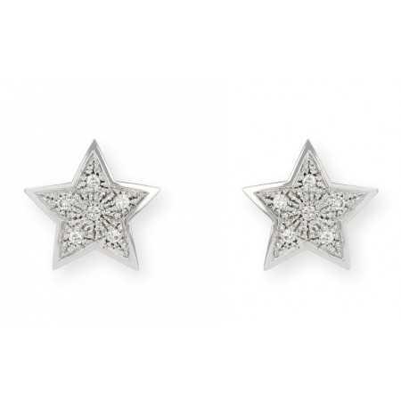 Star earrings 0.25ct MINI DETAILS