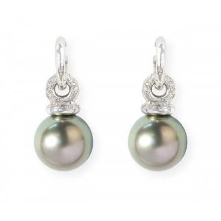 Pearls earrings Lady