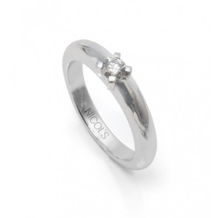 Solitaire Engagement Ring 0.20ct MADONNA