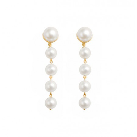 PEARLS pearl earrings LADY