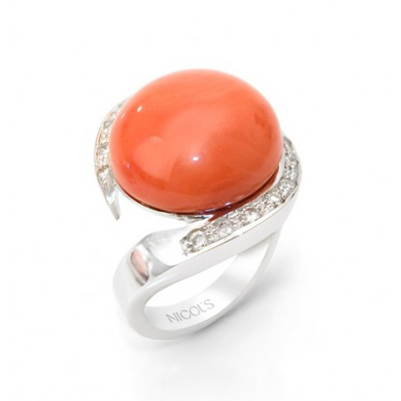 Nicol Coral Ring