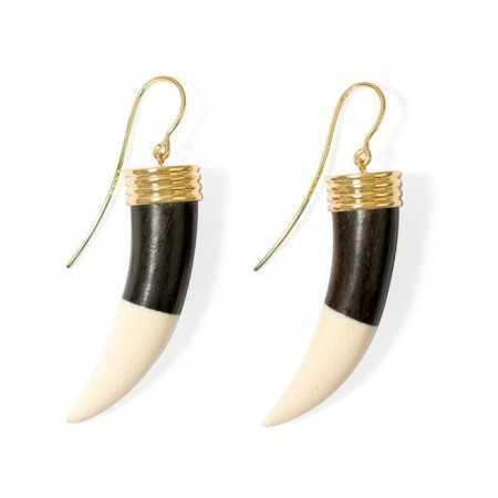 WILD HEART earrings Fangs