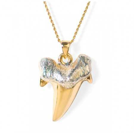 Gold necklace Shark SHARK JAW Fang