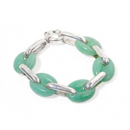 Silver Bracelet hawser