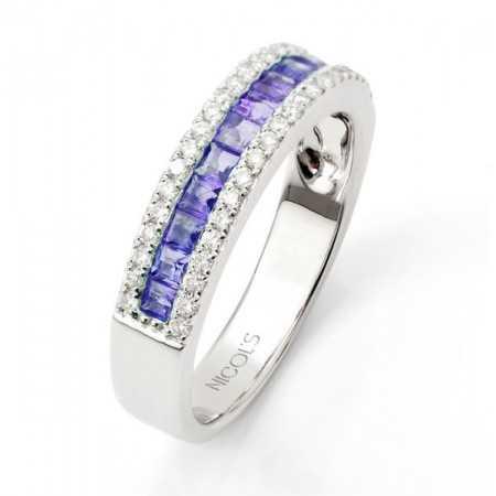 Sapphire Ring DIAMOND COLOR