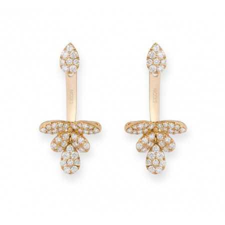 Diamond earrings EAR JACKETS
