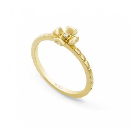 Diamond Flower Ring MIX + MATCH