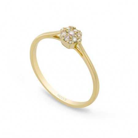 Diamond Ring Rosette MINI DIAMOND
