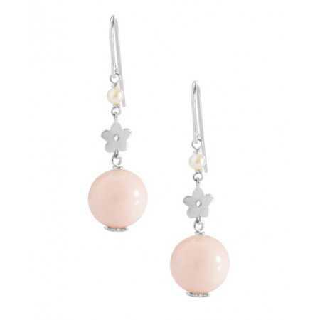 Pearl earrings Coral PEARLS LADY