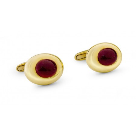 Gold and Ruby Cufflinks GROOM
