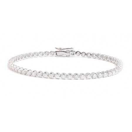 RIVIERE CLAWS 3.00ct Diamond Bracelet.