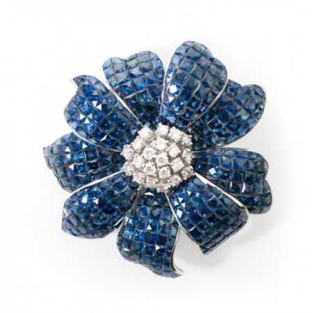 Diamond brooch NATURALLY