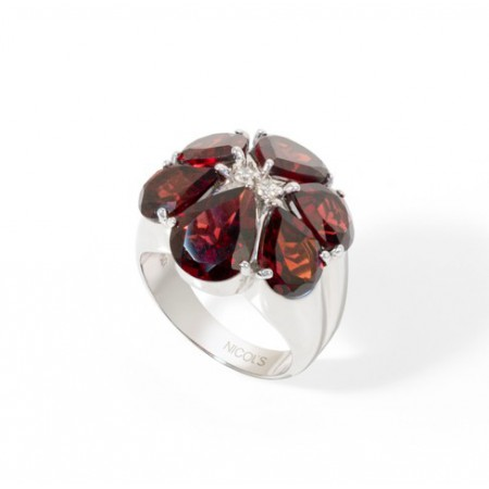 Nicol Flowers Ring