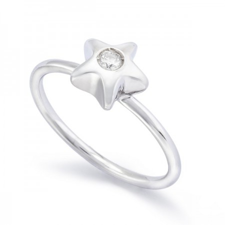 Lone Star Ring 0.08ct