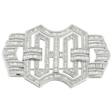 Diamond brooch DIAMOND BAGUETTE