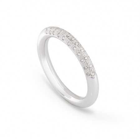 Gold Diamond Ring TUBULAR