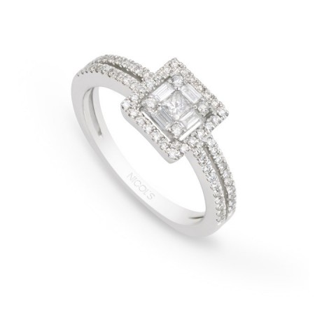 Engagement ring SQUARE