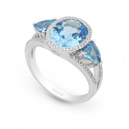 Diamond Ring Topacios TRAPEZE
