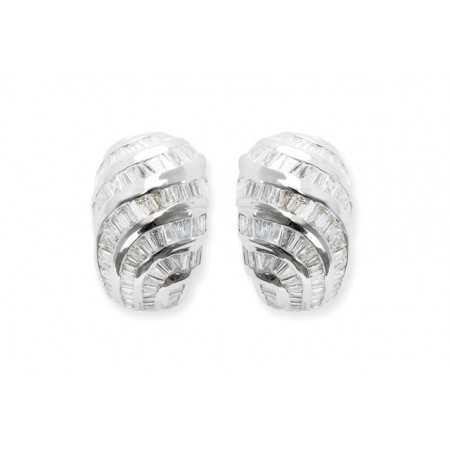 Baguette Diamond Earrings