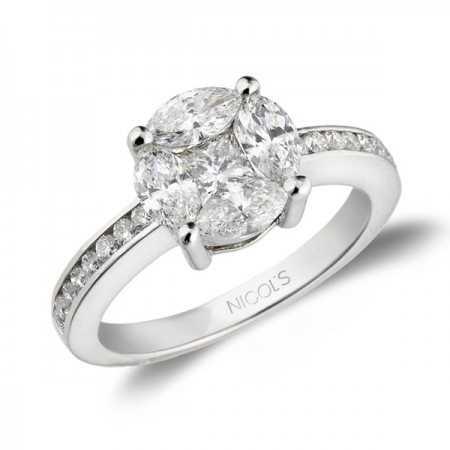 Engagement ring LOVE SPRING