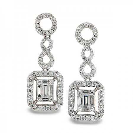 Diamond earrings ANNIVERSARY