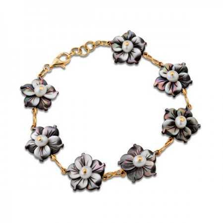 Gold Bracelet FLOWER POWER