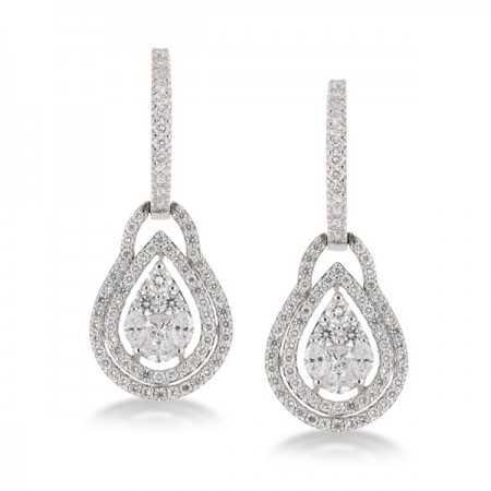 ANNIVERSARY diamond earrings DROP