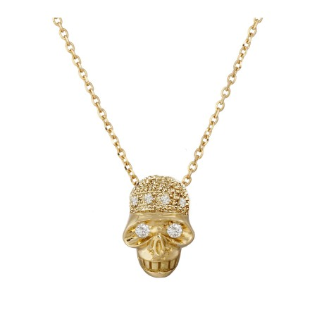 Diamond Skull Pendant NICOLS