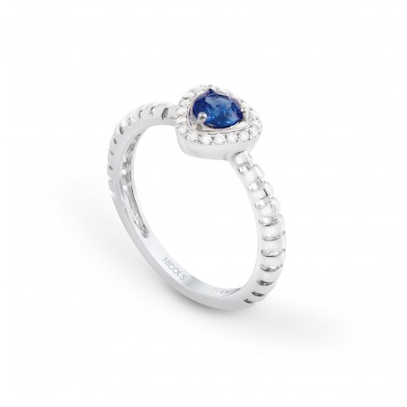 Sapphire ring TRIANGLE