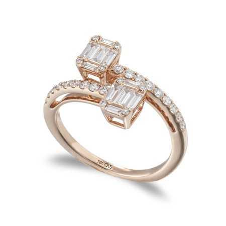 Diamond Ring TU ME SQUARE