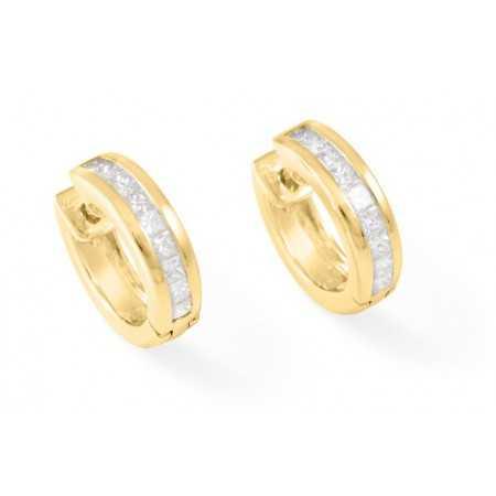 Diamond earrings Classic
