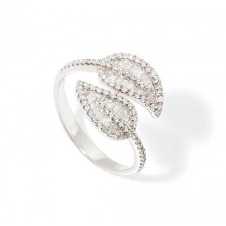 Diamond Ring DIAMOND LEAF