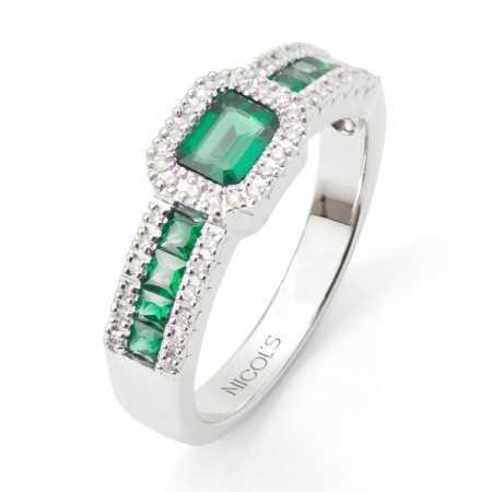 Emerald Ring DIAMOND COLOR