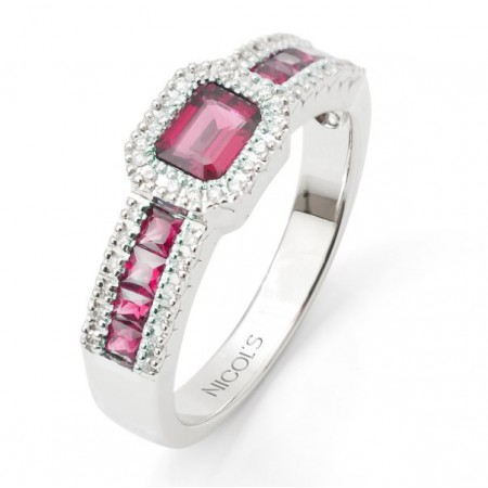 Ruby Ring DIAMOND COLOR