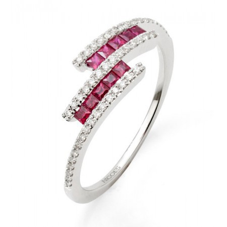 Ruby Ring DIAMOND YOUR COLOR ME