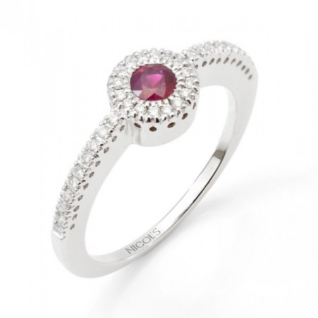 Ruby Ring Love Color