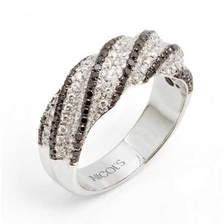 Classic + Black Diamond Ring
