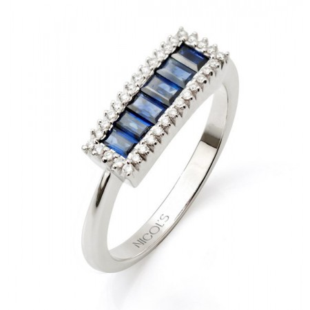Sapphires Ring COLOR LINE