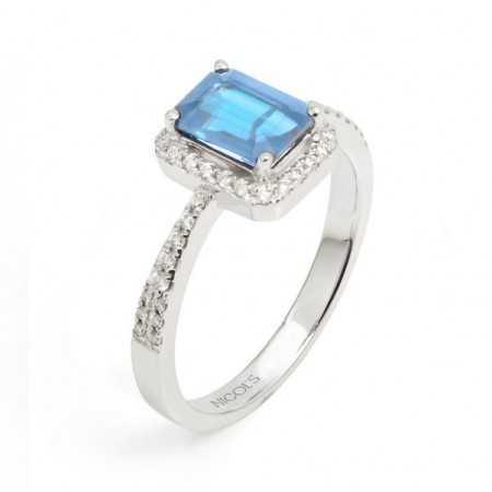 Topaz Diamond Ring DIAMOND COLOR