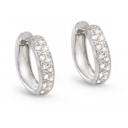 Hoop Earrings DIAMOND CLASSIC
