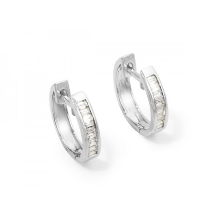 ARO diamond earrings BAGUETTE