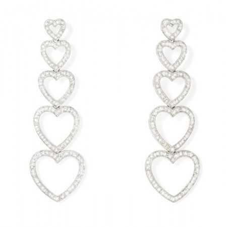 Gold Earrings HEART MAXI
