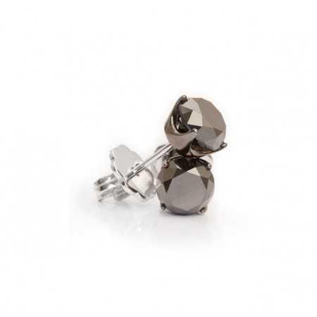 Earrings Black Power