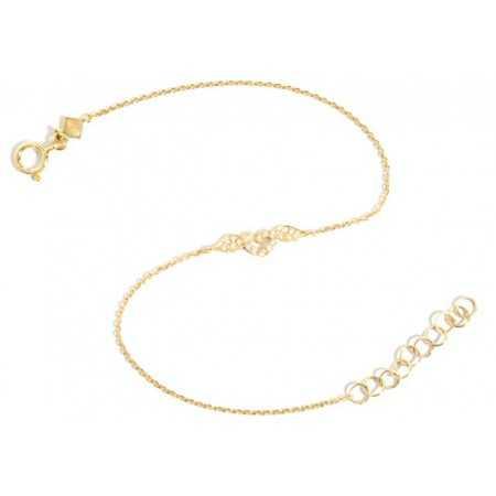 Gold Bracelet LOVE HEART