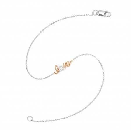 Diamond Bracelet LOVE MINI DETAILS