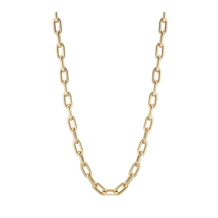 18kt Gold Chain 50cm 60x10 ESLABON