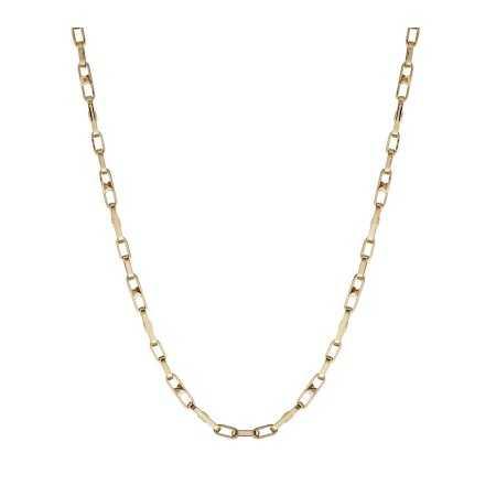 18kt Gold Chain 60cm ESLABON BARRA