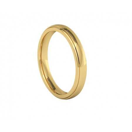TALIA Yellow Gold Wedding Alliance